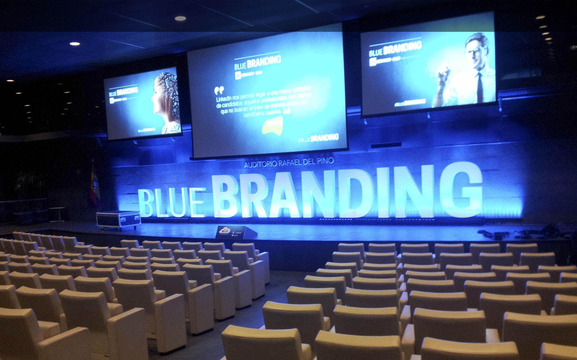 Evento «Blue Branding»